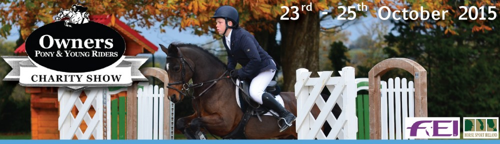 Owners Pony & Young Riders Charity Show 2015